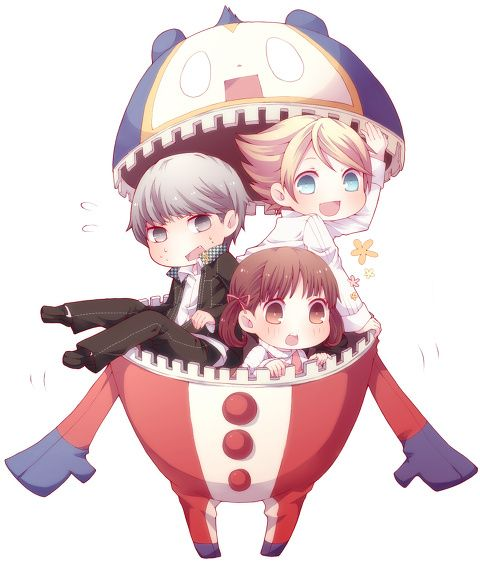 Persona 4! Favorite Anime/game!!!