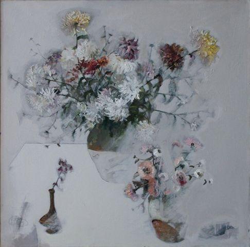 Title: Flori XI / Style: Acrylic on Canvas