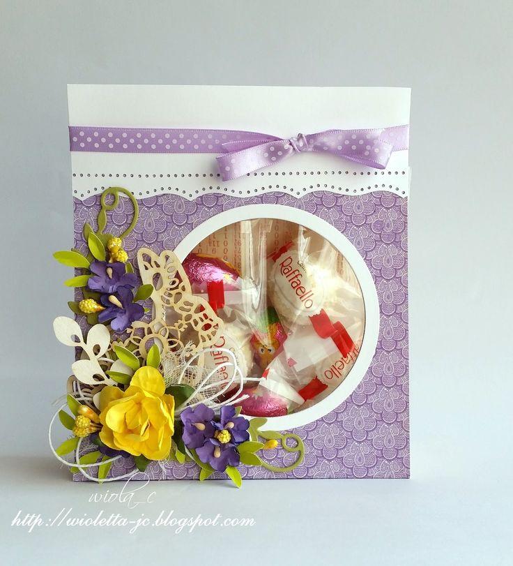 opakowanie na słodycze, pudełko, Wielkanoc