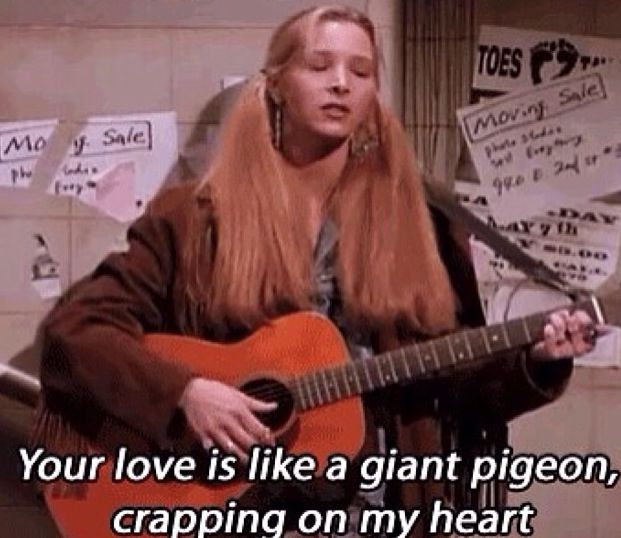 oh Phoebe, your songs!//