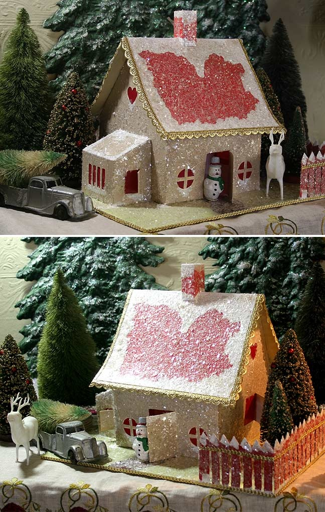 200 best paper christmas houses images on pinterest