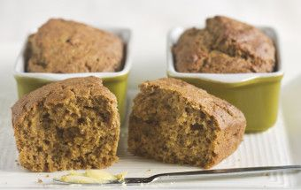 Little Banana Breads: Use spelt, wheat or quinoa flour for these delicious banana breads. Make a large loaf or muffins as an alternative.
