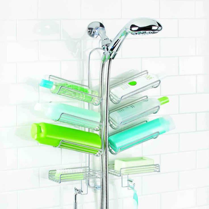 Pi di 25 fantastiche idee su etagere de douche su for Support gel douche salle bain