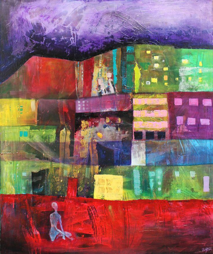 Shizma I, 100x120 cm,2012, oil on canvas, Barbara Hacura