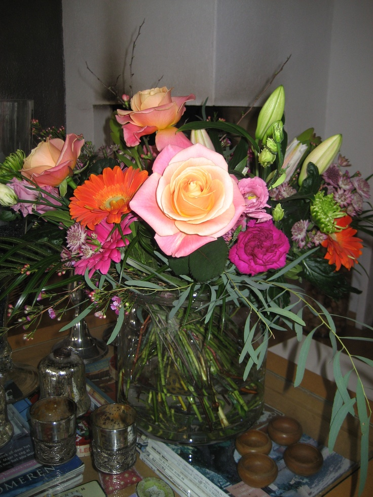 Bloemen van Blauwhoed Groep gekregen