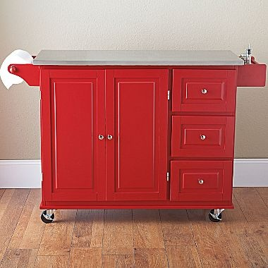 Sundance Kitchen Cart Stainless Steel Top Jcpenney Kitcheny Pinterest Tops Steel And