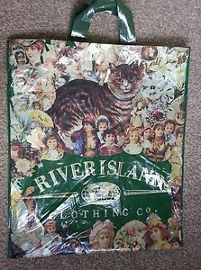 Vintage River Island carrier bag - always had my pe kit in one of these - LM