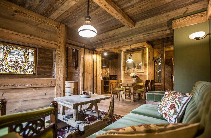 Amenagement en vieux bois/ Aranżacja w starym drewnie