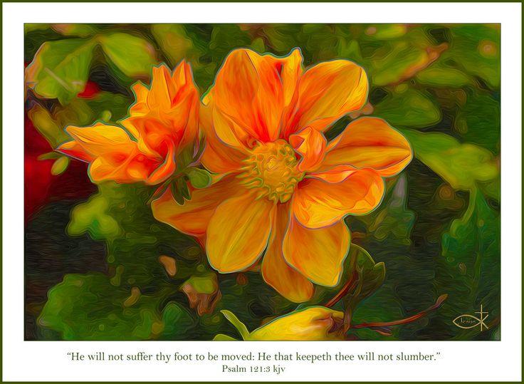 Psalm 121:3 kjv | by Joy C.