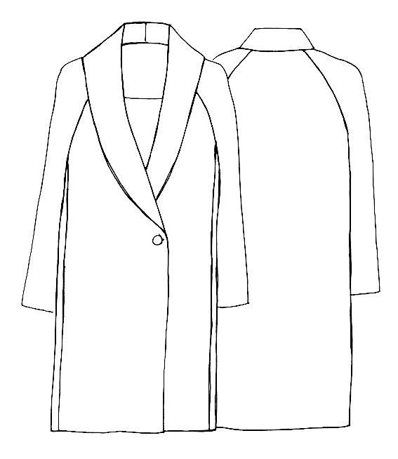 NEW :: THE OSLO COAT PATTERN - Sew Tessuti Blog