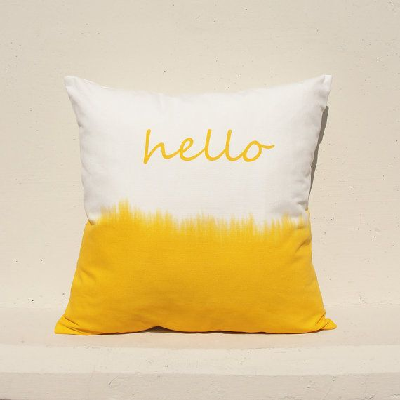1000 ideas about yellow cushions on pinterest yellow for Housse de coussin 55x55