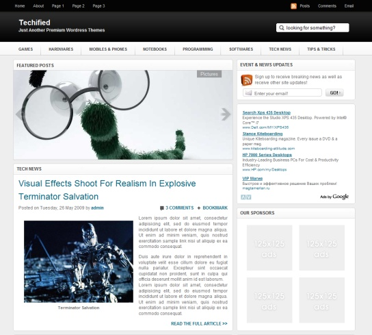 Mejores 33 imágenes de Plantillas WordPress en Pinterest ...