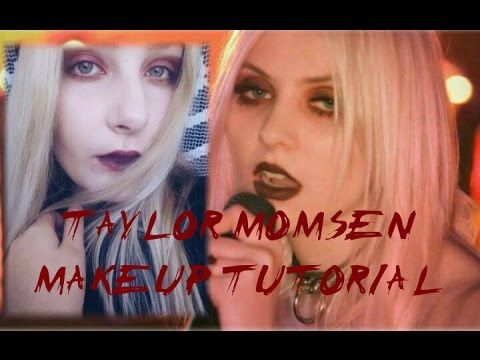 Taylor Momsen Inspired Makeup Tutorial (Just Tonight) - YouTube     #makeup #taylormomsen #howto #beauty #tutorial #makeuptutorial #rock
