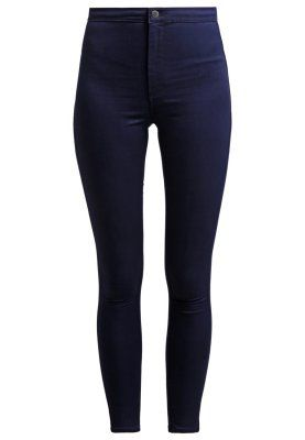 Topshop JONI - Jeans slim fit - dark-blue denim - Zalando.se