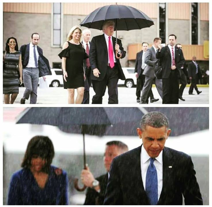That's it in a nutshell, isn't it. With Trump, it's all about HIM.  Whereas Obama would rather see others protected.