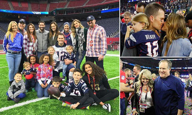Tom Brady poses with entire family after his historic Super Bowl win #DailyMail | These are some of the stories. See the rest @ http://www.twodaysnewstand.com/mail-onlinecom.html or Video's @ http://www.dailymail.co.uk/video/index.html And @ https://plus.google.com/collection/wz4UXB
