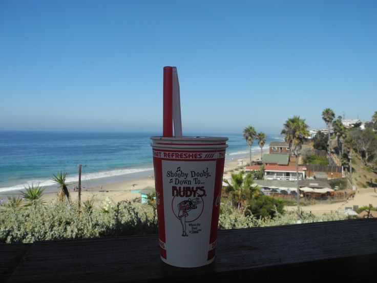 Coffe and Crystal Beach in Los Angeles
