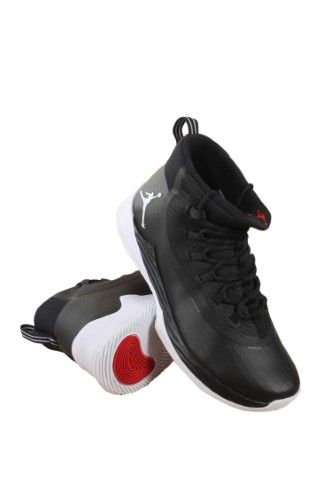 Nike Men s Air Jordan Ultra Fly 2 Black White-University Red 897998-011  Size 13 5d153dddad7