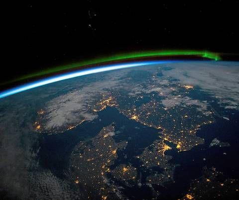 Norway from space