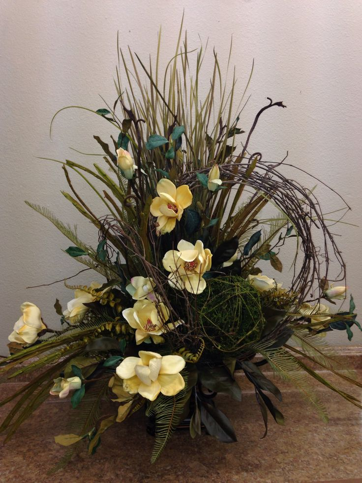 Best magnolia centerpiece ideas on pinterest outdoor