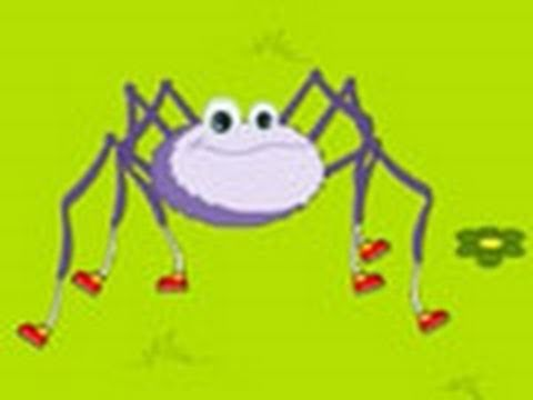 Incy Wincy Spider- a playlist of classical nursery rhymes at the jump