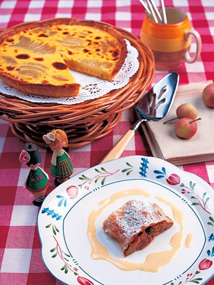 フルーツの甘みと香りがたっぷりの、アルザスらしいデザート2品。手軽に作れるから、ぜひお試しを。 『ELLE a table』はおしゃれで簡単なレシピが満載!