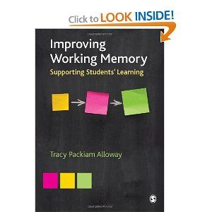 Improving Working Memory: Supporting Students' Learning.  Better working memory can be particularly useful to children with conditions where poor working memory is thought to be an underlying factor. Such conditions include: -     dyslexia -   dyscalculia -   speech and language difficulties -   developmental coordination disorders (motor dyspraxia) -   ADHD (attention deficit hyperactivity disorder) -   autistic spectrum disorders