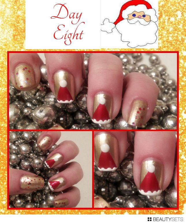 """Hairspray and High Heels: """"A Jersey Girl's Guide to Beauty"""": 21 Days Of Christmas Day Eight: NOTD"""