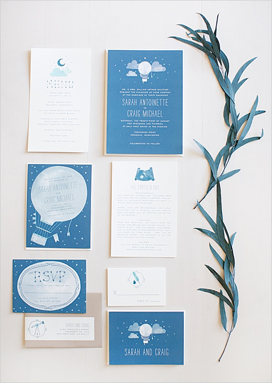 adventure wedding invites