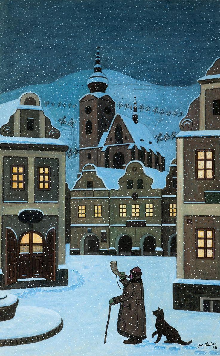 Dosavadní rekord má Ladův obraz Ponocný z roku 1947.