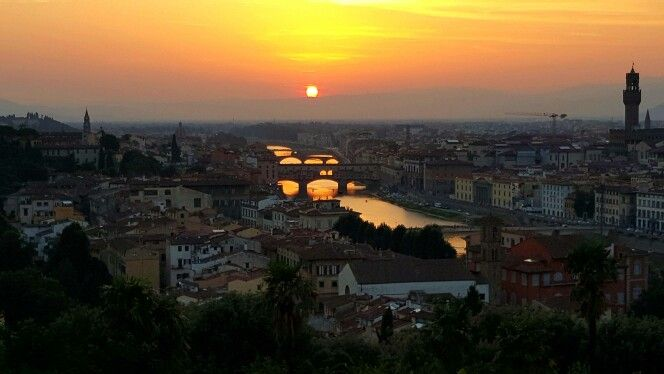 Florence Italy 2015 michaelangelo lookout