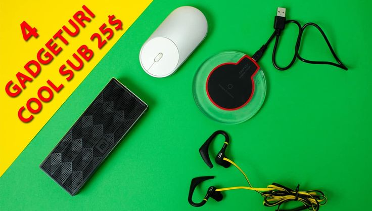 """Gadgeturi cool sub 25 $ + GIVEAWAY . A sosit momentul pentru un nou episod cu """"Gadget-uri cool sub 25$"""". Ți-am pregătit 4 accesorii super interesante + un GIVEAWAY. https://www.gadget-review.ro/gadgeturi-cool-sub-25-giveaway/"""