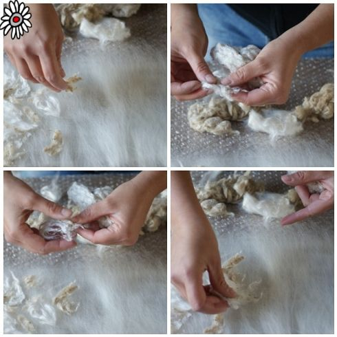 How to Use Silk Fibres in Felt Making | Learn About Wool