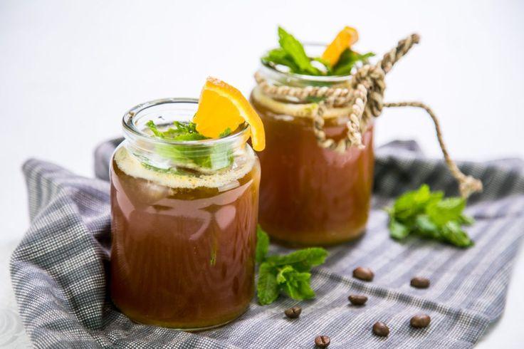 Domácí kávová limonáda