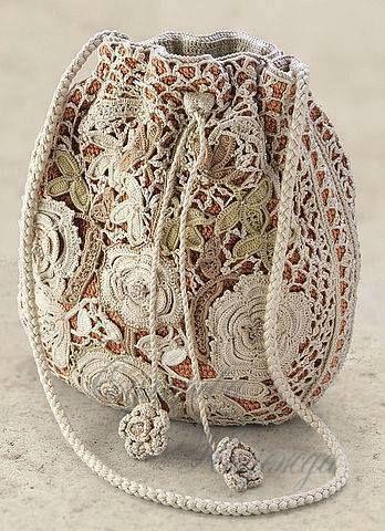 Beautiful crocheted Purse ... Yes it is!