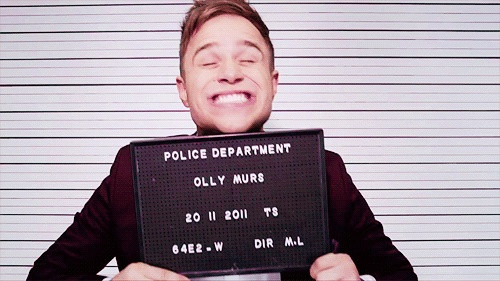 Stop being adorable right this instant. Olly Murs