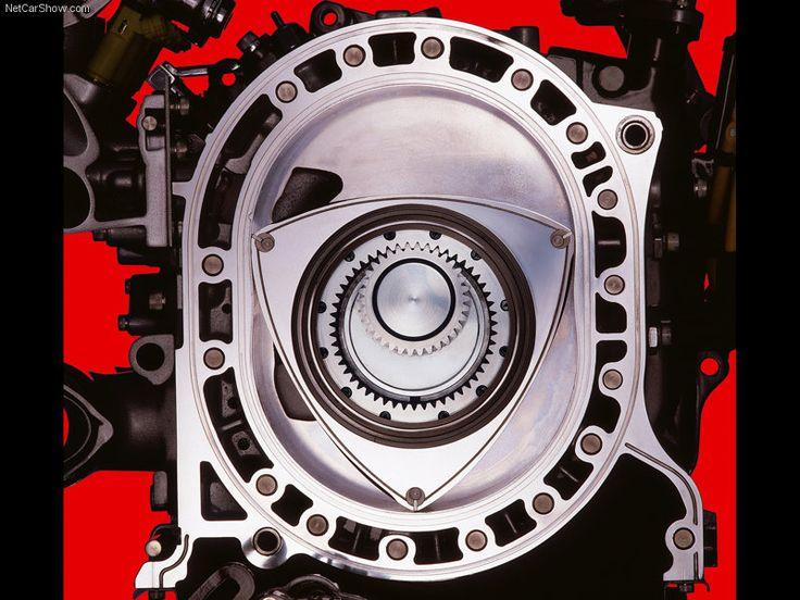 Mazda RX-8 rotary engine....gorgeous