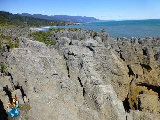 Pancake Rocks - Punakaiki (New Zealand)