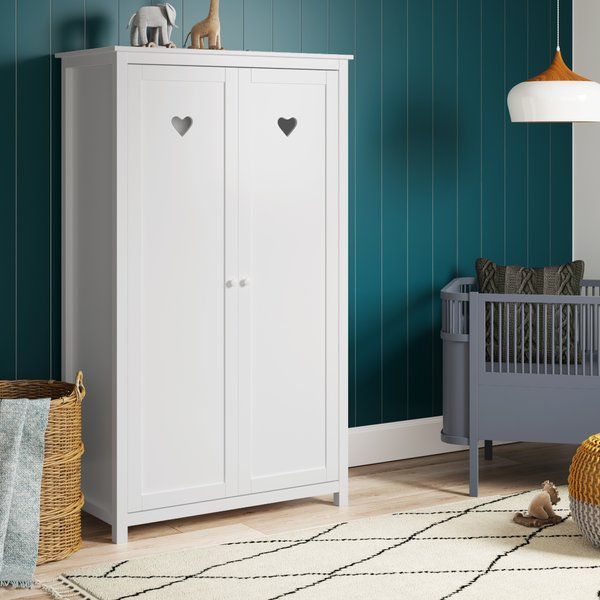Andrews 2 Door Wardrobe 2 Door Wardrobe Tall Cabinet Storage Locker Storage