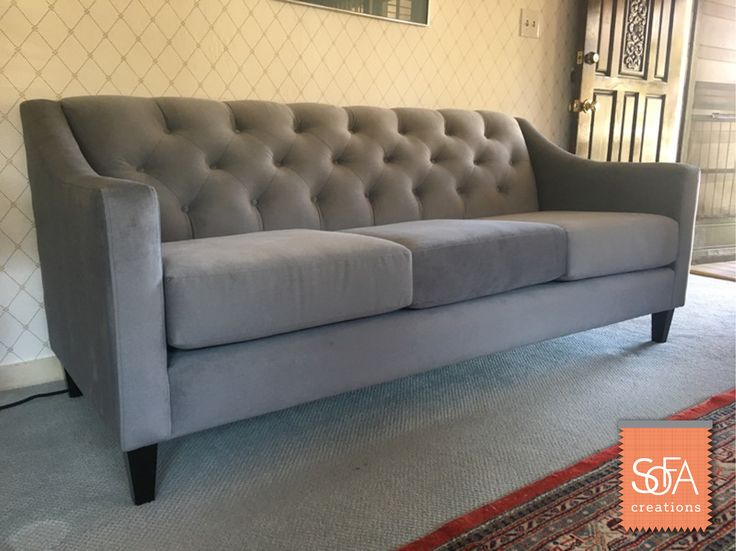 The Elegant Victoria Sofa, Shown Here In Oakley Pewter. You Can Customize  Your Own