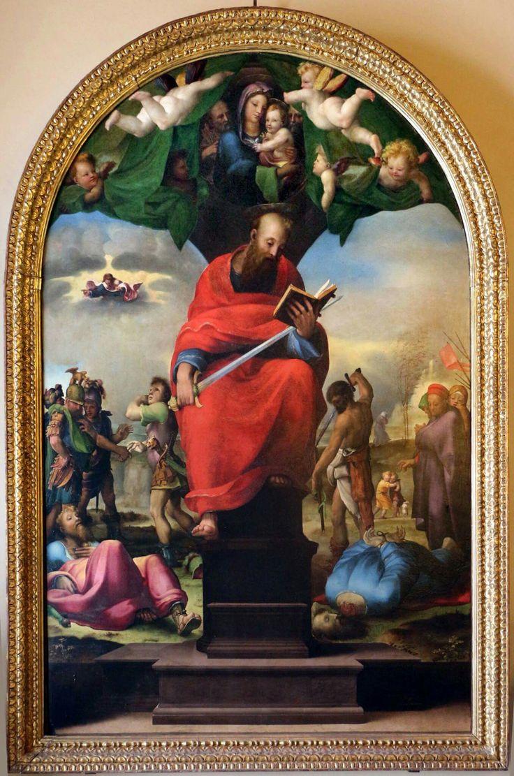 San Paolo in trono. 1516. Museo dell'opera del Duomo di Siena