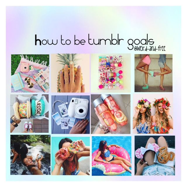 """""""Tips on how to be tumblr goals"""" by weird-and-free ❤ liked on Polyvore featuring Make, women's clothing, women's fashion, women, female, woman, misses, juniors and WeirdArmy"""