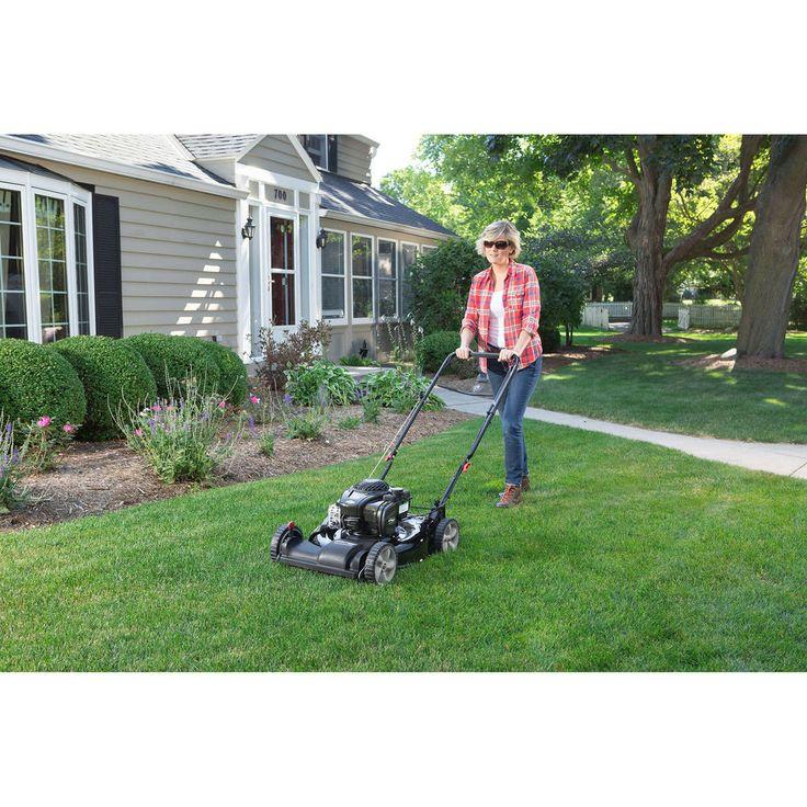 "Self Propelled 21"" Side Discharge, Dual Lever and Mulching Lawn Mower  #SelfPropelledMowers"