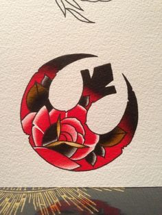 american traditional star wars tattoo - Google Search