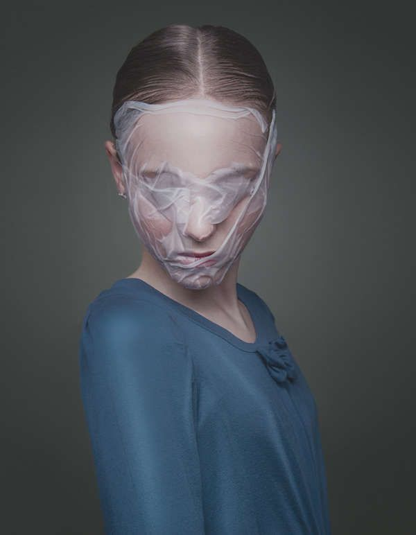 Freaky Flying Masks - The Sruli Recht Sleeping Mask is a Little Piece of Creepy Comfort (GALLERY)