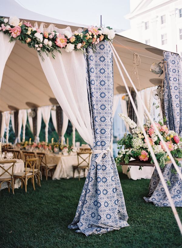 Patterned tent detail | Eric Kelley