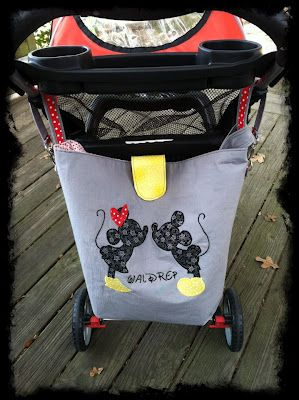 A Plain Path: Disney Stroller Bag ~ I will miss having a stroller next time we go but this is a great idea!