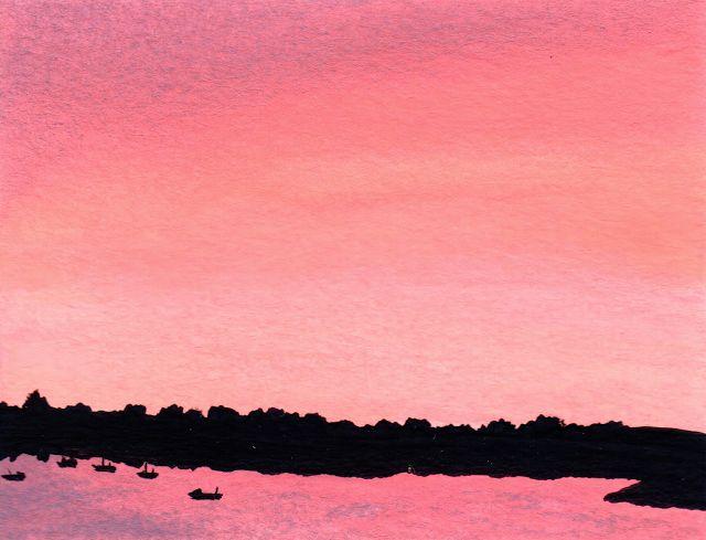 Desenho do Dia #273 - Tudo rosa - Soraia Casal
