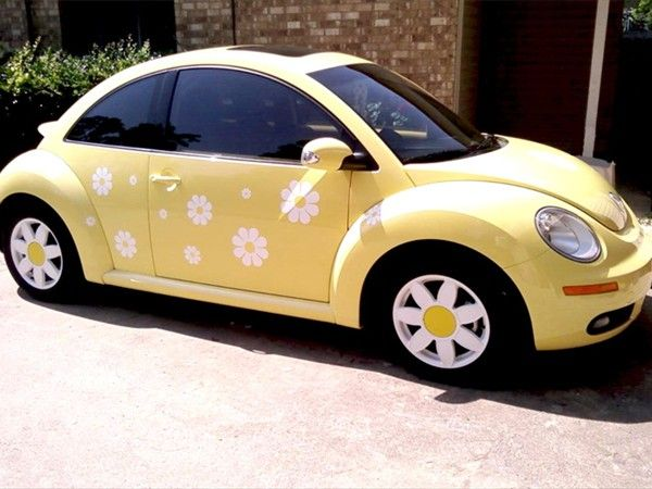 Superb TheDaisyPeople.com   Daisy Decals And Stickers For Your Volkswagen Beetle,  Scooter Or .