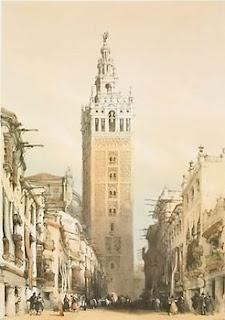La Giralda, Sevilla by David Roberts (1796 – 1864)